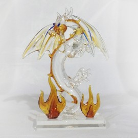 Dragon sur socle