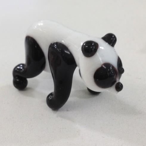 Petit panda en verre