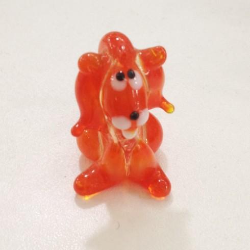 Lion fantaisie en verre