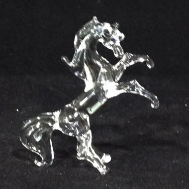 Petit cheval en verre