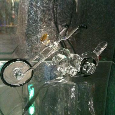 Moto en verre