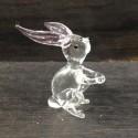 Petit lapin en verre