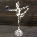 Gymnaste en verre