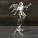 Grande fée en verre