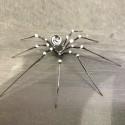 Araignée venimeuse en verre