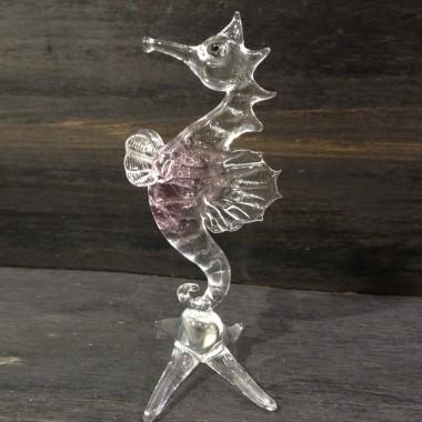 Hippocampe en verre