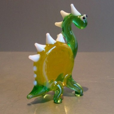 Dinosaure en verre