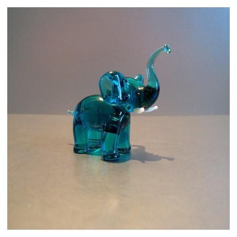 Eléphant en verre