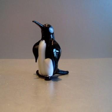 Pingouin en verre