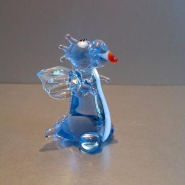 Dragon fantaisie en verre