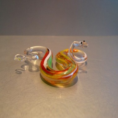Serpent en verre
