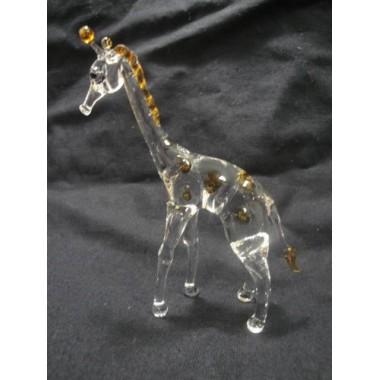 Petite girafe en verre