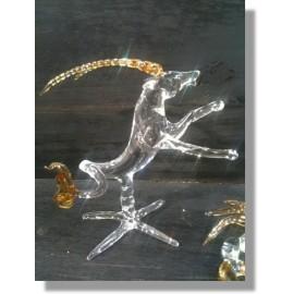 Capricorne en verre