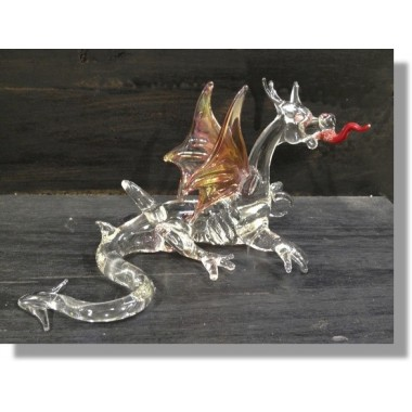 Dragon en verre