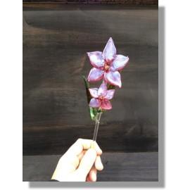 Orchidée en verre