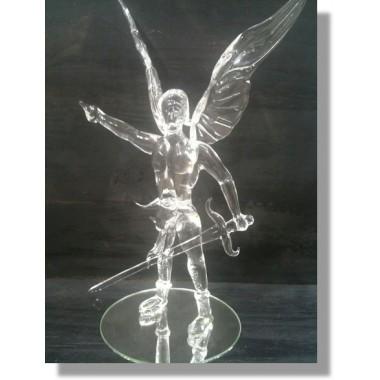 gladiateur avec des ailes en verre
