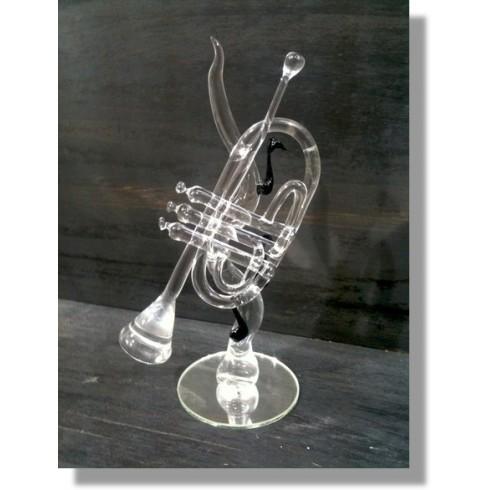 Trompette en verre