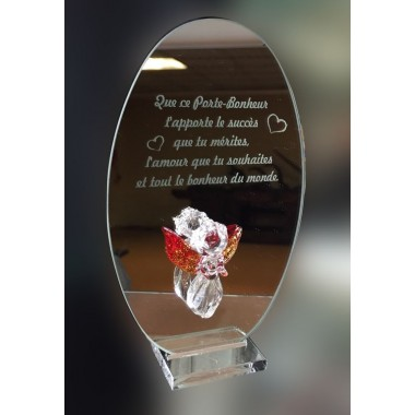 Miroir message ange-gardien