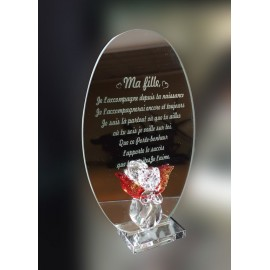 Miroir message ma-fille