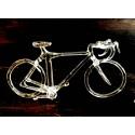 Vélo en verre