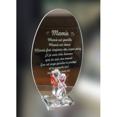 Miroir message personnalis en ligne en verre 13 00 for Miroir en ligne