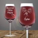 verre à vin 58 cl gravure personnalisé