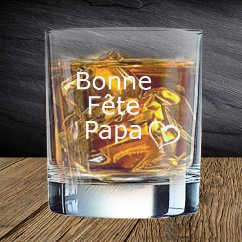 Verre Whisky Personnalisé Gravé À 7,00 €
