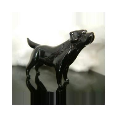 Chien Labrador en verre