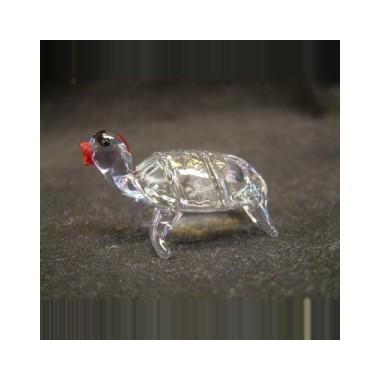 Petite tortue en verre