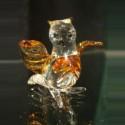 Chouette en verre