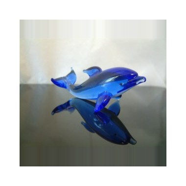 Petit dauphin en verre
