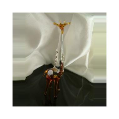Girafe en verre