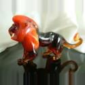 Lion en verre