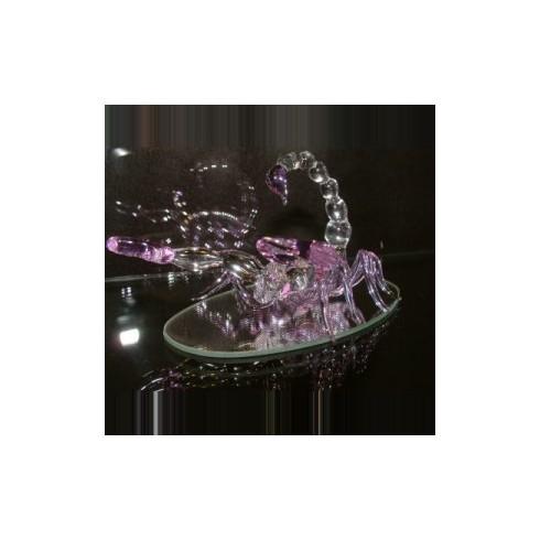 Scorpion en verre