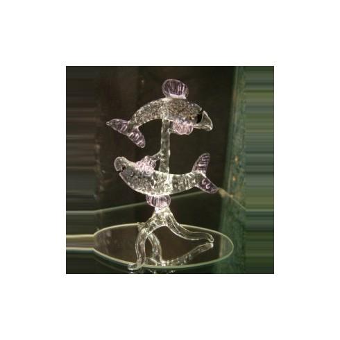 Poisson en verre