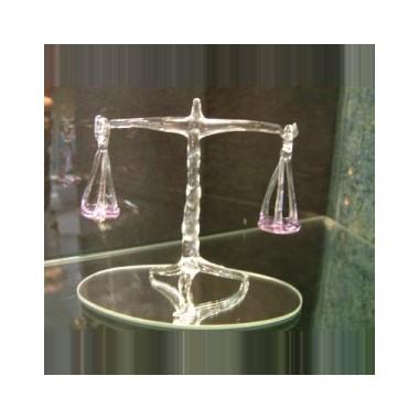 Balance en verre