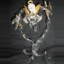 Ange coeur en verre
