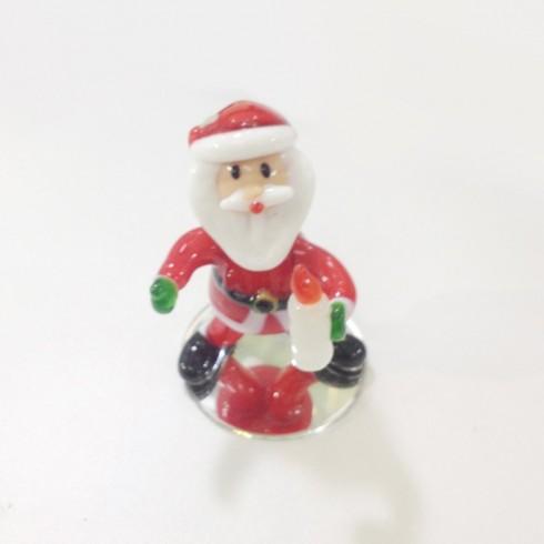Père Noël en verre
