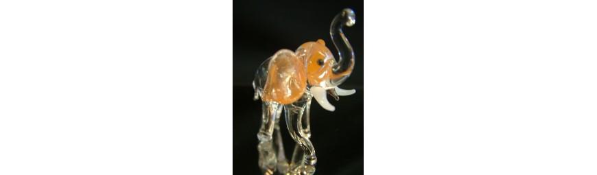 Articles -  Animaux en verre -  Cristallerie de la Fontaine