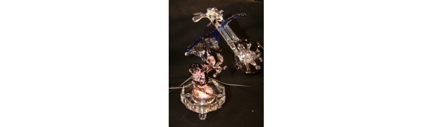 Articles -  Véhicules en verre -  Cristallerie de la Fontaine
