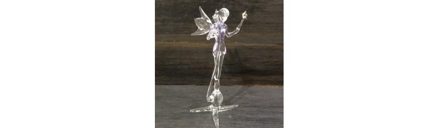 Articles -  fée et fantaisie en verre -  Cristallerie de la Fontaine